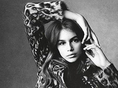 """Kaia Gerber ficha por IMG, ¿nueva top model o """"hija de"""" que quiere tener éxito en moda?"""