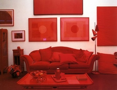 Decorar en rojo y blanco