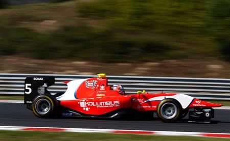 Patric Niederhauser GP3 Hungaroring 2014