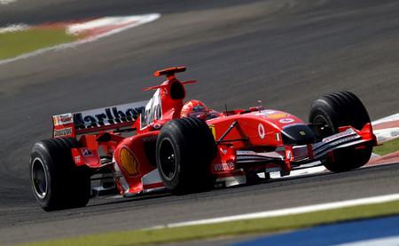Michael Schumacher Baréin 2005