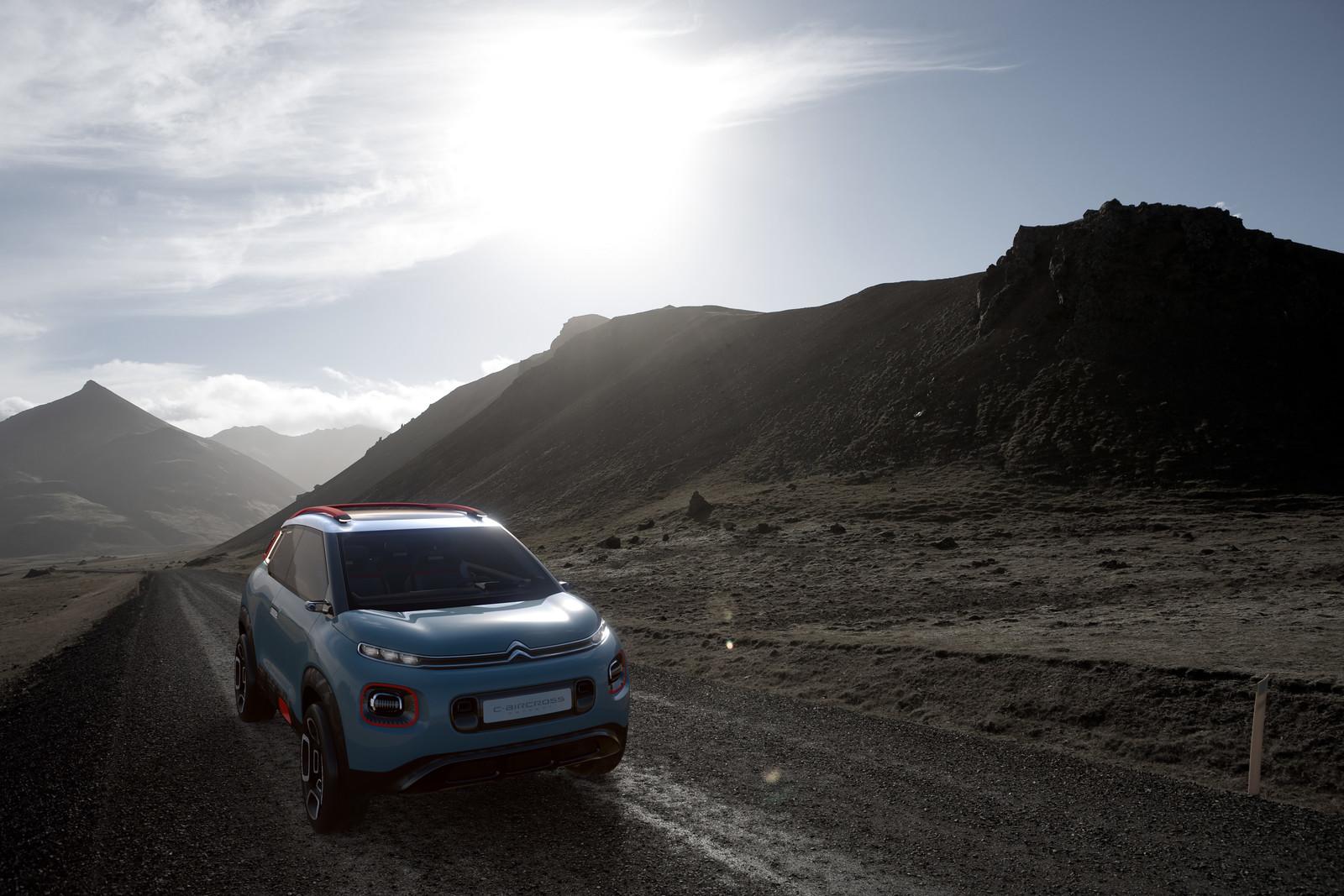 Foto de Citroën C-Aircross Concept (11/12)
