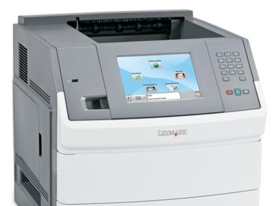 Lexmark también se atreve con una pantalla táctil en sus impresoras láser
