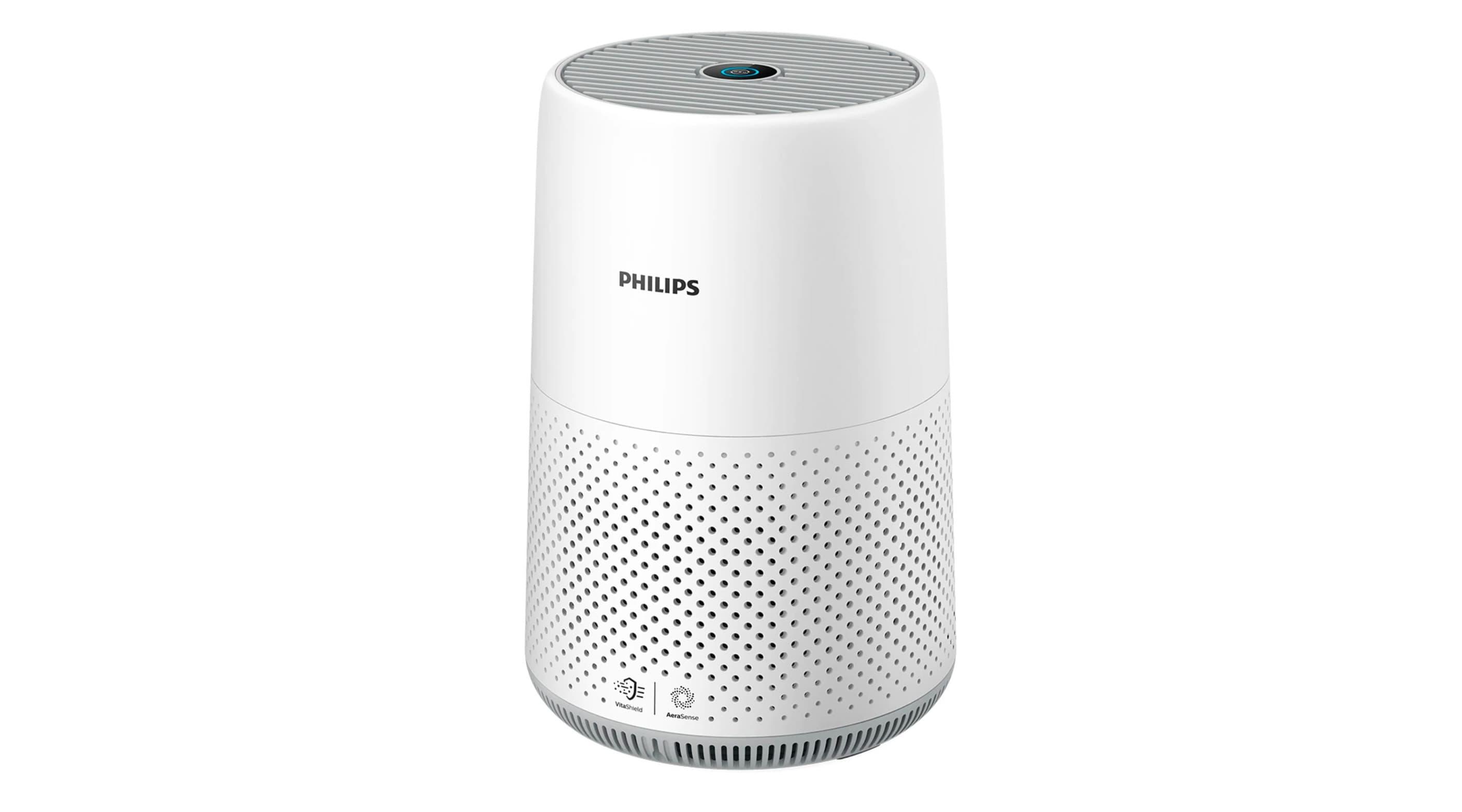 Purificador de aire compacto Philips s800 con filtro HEPA, para estancias de hasta 49m2