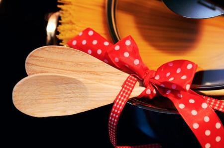 Cucharas y espátulas: de madera, de nylon o de silicona
