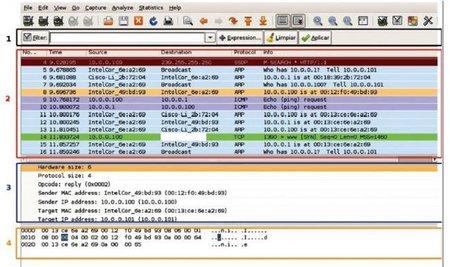 Guía de análisis de tráfico de red con Wireshark de INTECO