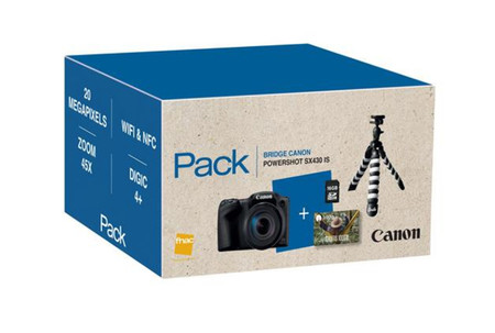 Canon Powershot Sx430 Is Pack