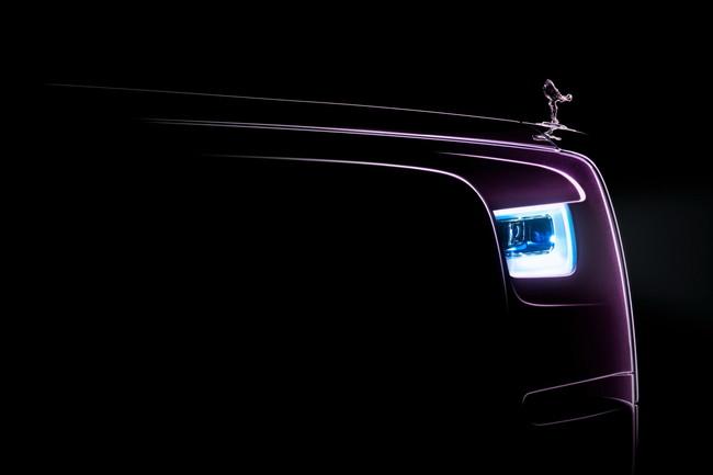 Rolls-Royce presentó el primer teaser del Phantom 2018, aunque ya se habían filtrado algunas imágenes