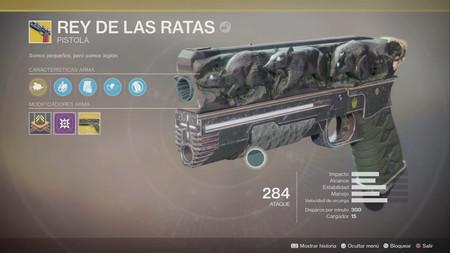Destiny 2: cómo conseguir el Rey de las Ratas