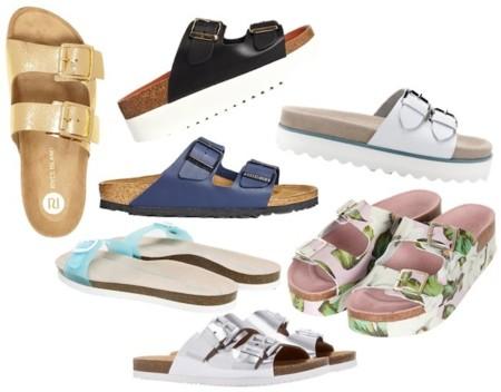 zapatos tipo birkenstocks