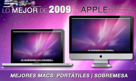"""Resultados de los mejores Macs de 2009 en Applesfera: MacBooks Pro (13"""" y 15"""") e iMac 27"""""""