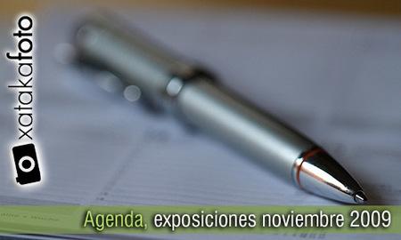 Agenda: exposiciones de fotografía, noviembre 2009