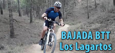 """Así se vive el descenso de """"Los Lagartos"""" en bicicleta de montaña en primera persona"""