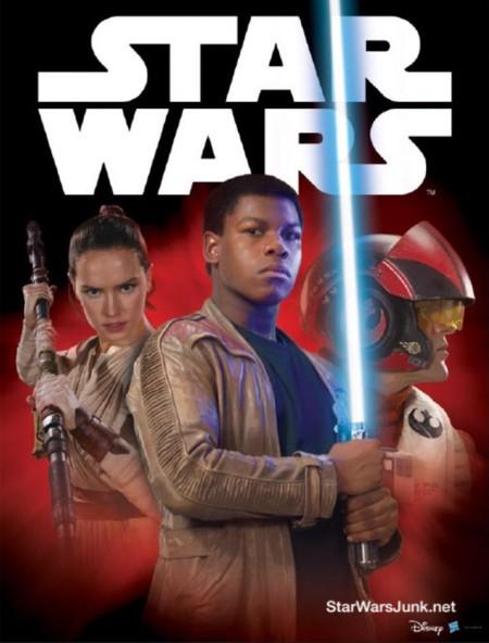 Otro póster de Star Wars VII: El Despertar de la Fuerza