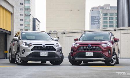 Consumo híbrido Toyota RAV4 México 1 14