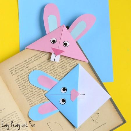 Manualidades Pascua Conejo Separador