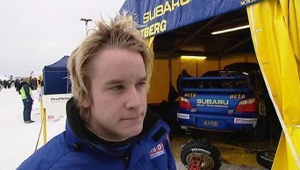 Ostberg con Subaru en 2009