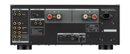 Denon amplificador