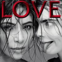 Hablar de LOVE Magazine es hablar de Kim, Kendall y Cara