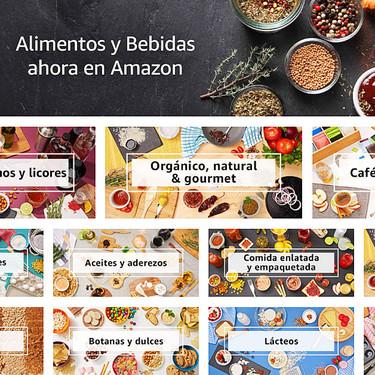Amazon México estrena sección de Alimentos y Bebidas