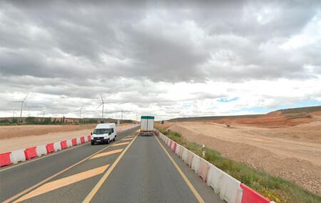 Un radar caza a un conductor a 184 km/h pero se libra de la multa gracias a una violenta borrasca
