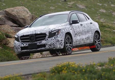Mercedes-Benz GLA: Fotos espía
