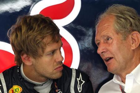 Helmut Marko: Sebastian Vettel tiene un contrato blindado con Red Bull