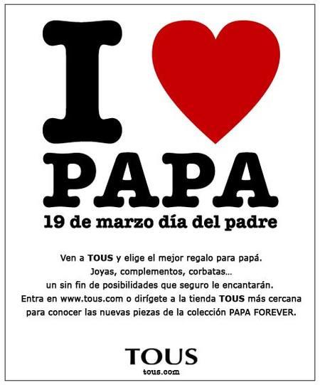 Tous, I Love Papa