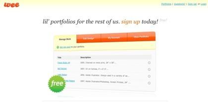 Showthatporfolio y Weefolio, dos portafolios online donde colgar nuestros trabajos