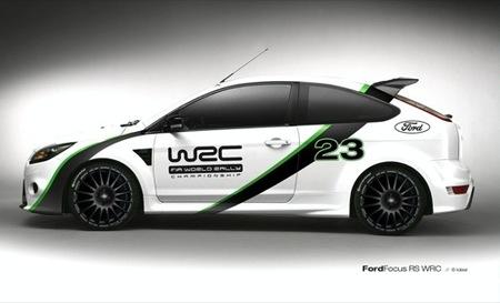 Ford Focus RS WRC Edition, ahora en colores relativamente discretos