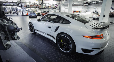 Porsche 911 Turbo S GB Edition, para Reino Unido
