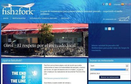 Fish2fork, guía de restaurantes que sirven pescado sostenible