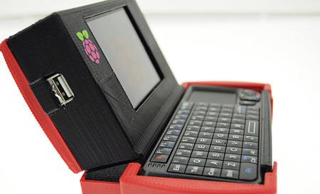 Un portátil diminuto con una Raspberry Pi