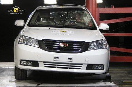 ¡OJO! Dos coches chinos ya tienen cuatro estrellas EuroNCAP
