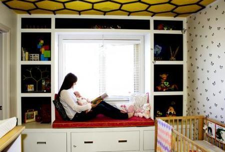 Puertas abiertas: el dormitorio de una abejita