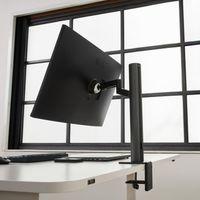 El nuevo monitor de LG apuesta por la versatilidad con un soporte que gira de forma lateral hasta 280 grados
