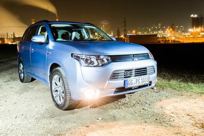 Mitsubishi Outlander PHEV... y que se vaya la luz