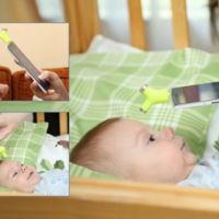¿Medir la temperatura a un niño te parece difícil? Este termómetro para el móvil lo hace fácil