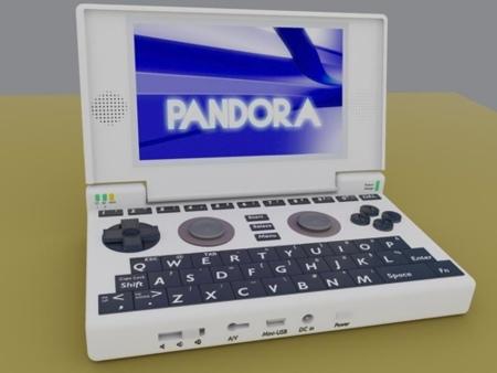 Pandora, una nueva consola portátil