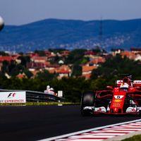 Primera fila del Gran Premio de Hungría para Ferrari con Vettel en la pole. Alonso y Sainz en la Q3