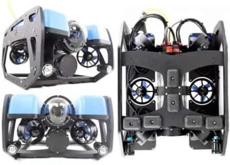 Si primero fueron los drones aéreos, ahora llegan los drones submarinos