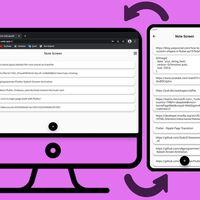 Sincroniza enlaces a páginas web entre el móvil y el ordenador al instante con esta app