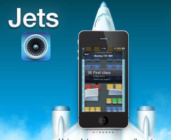 Jets, una aplicación para ver cuáles son los mejores asientos para tus viajes en avión