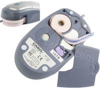 Ratón e impresora de etiquetas, en un gadget
