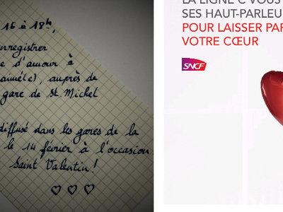Más ciudad del amor que nunca: el metro de París emitirá mensajes de amor personalizados durante todo el día de hoy