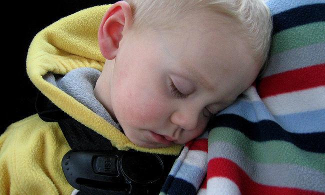 Durmiendo en el coche