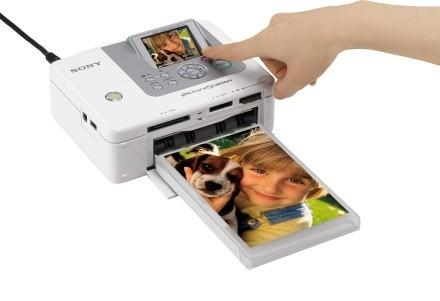 Impresoras portátiles de Sony: DPP-FP70 y DPP-FP90