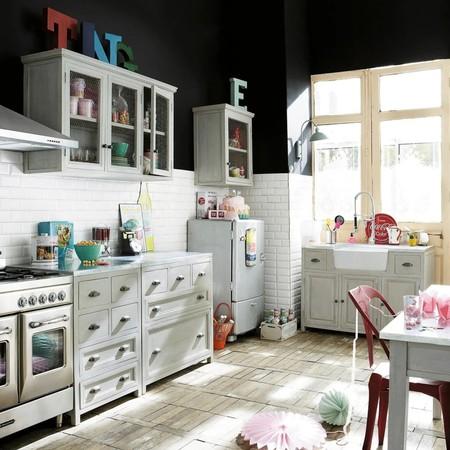 Los módulos cocina de Maisons du Monde con los que es muy fácil diseñar una cocina