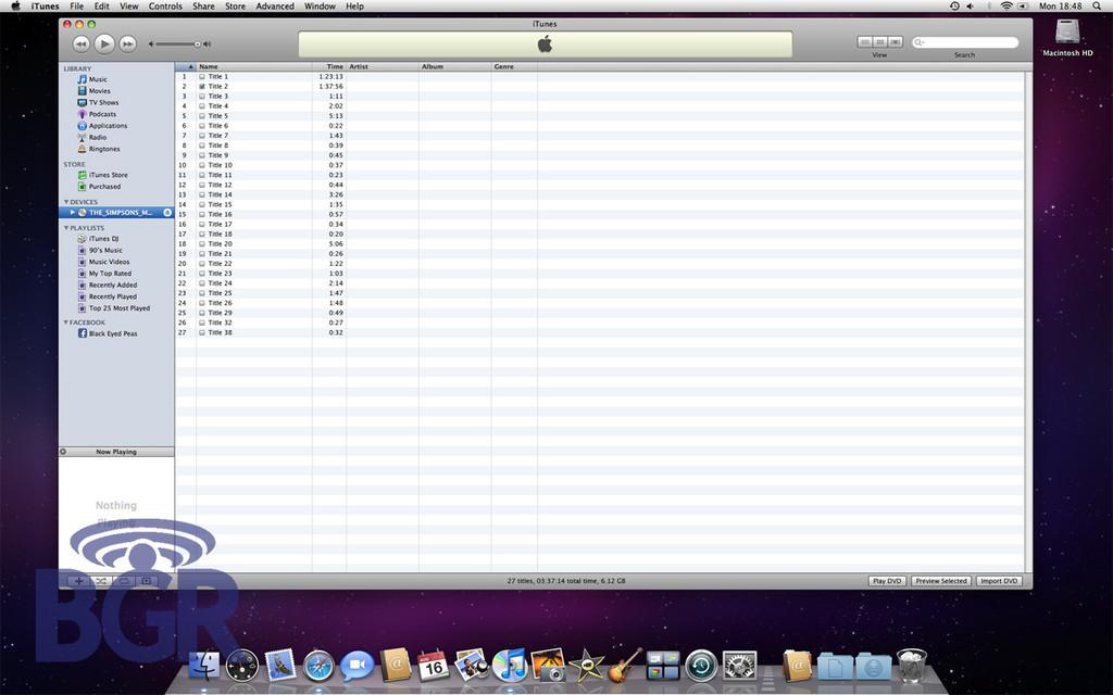 Foto de iTunes 9 (3/4)