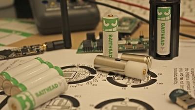 Batthead, pilas Bluetooth que podemos controlar desde el smartphone
