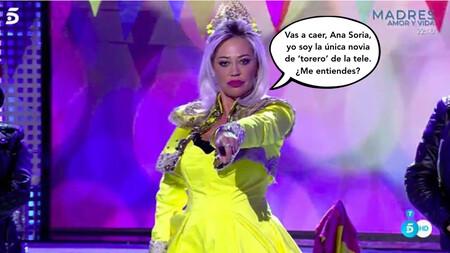 Belén Esteban cruza la pasarela gracias a este hit musical dedicado a Jesulín de Ubrique: ¡Ay, Ana Soria, que la princesa del pueblo te come la tostada torera!
